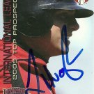 2009 Choice International League Top Prospects Luke Hughes Autograph