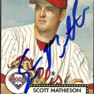 2006 Topps '52 Scott Mathieson Autograph