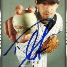 2007 Upper Deck Series 2 David Aardsma Autograph