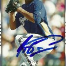 2007 Upper Deck Series 2 Greg Aquino Autograph