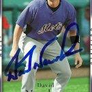 2007 Upper Deck Series 2 David Newhan Autograph