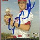 2006 Topps Update Scott Mathieson Autograph