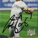 2007 Fleer Andy Cannizaro Autograph
