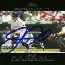 2007 Topps Series 1 Jamey Carroll Autograph