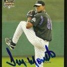 2007 Topps Series 2 Juan Morrillo Autograph