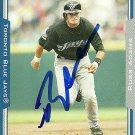 2005 Topps Update Russ Adams Autograph