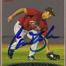 2006 Topps Series 2 Chris Burke Autograph