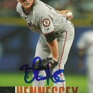 2006 Upper Deck Series 1 Brad Hennessey Autograph