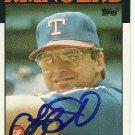 1986 Topps Larry Parrish Autograph