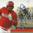 2009 Choice Muckdogs Ryde Rodriguez Autograph