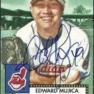 2006 Topps '52 Edward Mujica Autograph