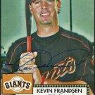 2006 Topps '52 Kevin Frandsen Autograph