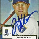 2006 Topps '52 Justin Huber Autograph