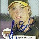 2006 Topps '52 Jonah Bayliss Autograph