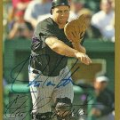 2007 Topps Series 2 Gold Border Chris Iannetta Autograph