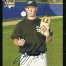 2007 Topps Update Red Back Jesse Litsch Autograph