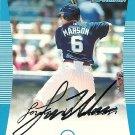 2008 Bowman Draft Lou Marson Autograph