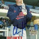 2006 Upper Deck Series 1 Chris Heintz Autograph