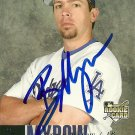 2006 Upper Deck Series 1 Brian Myrow Autograph