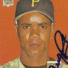 2007 Topps Heritage Juan Perez Autograph