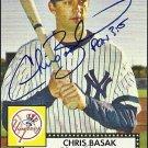 2007 Topps '52 Chris Basak Autograph
