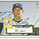 2007 Topps '52 Tyler Clippard Autograph