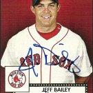 2007 Topps '52 Jeff Bailey Autograph