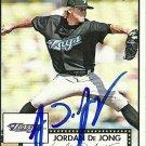 2007 Topps '52 Jordan De Jong Autograph
