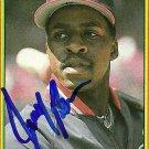 1990 Bowman Jerry Browne Autograph