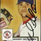 2006 Topps '52 Manny Delcarmen Autograph