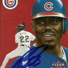 2000 Fleer Tradition Rondell White Autograph