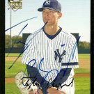 2007 Topps Update Red Back Tyler Clippard Autograph