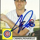 2007 Topps '52 Carmen Pignatiello Autograph