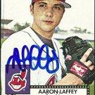 2007 Topps '52 Aaron Laffey Autograph