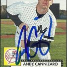 2007 Topps '52 Andy Cannizaro Autograph