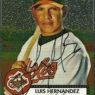 2007 Topps '52 Chrome Luis Hernandez Autograph