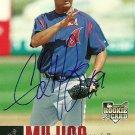 2006 Upper Deck Update Edward Mujica Autograph