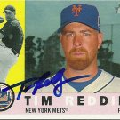 2009 Topps Heritage Tim Redding Autograph