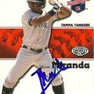 2008 Tristar Projections Juan Miranda Autograph