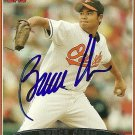 2006 Topps Series 2 Bruce Chen Autograph