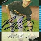 2005 Bowman Draft Brent Lillibridge Autograph