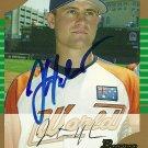 2005 Bowman Draft Gold Justin Huber Autograph
