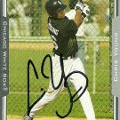 2005 Topps Update Chris Young Autograph