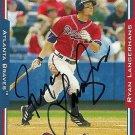 2005 Topps Update Ryan Langerhans Autograph