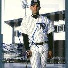 2000 Victory D'Angelo Jimenez Autograph