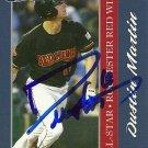 2010 Choice International League All-Stars Dustin Martin Autograph