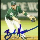 2007 Topps Update Brendan Harris Autograph