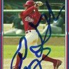 2005 Topps Update Greg Golson Autograph