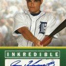 2008 Upper Deck Inredible Ivan Rodriguez Autograph