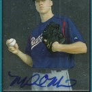 2007 Bowman Draft Chrome Michael Main Autograph